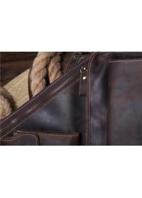 Кожаный рюкзак мужской, на одну шлейку Bx1089