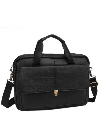 Фотография Мужская сумка для ноутбука, кожаная Bx1125A