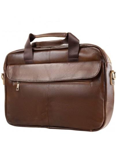 Фотография Коричневая сумка деловая для мужчин Bx1127C