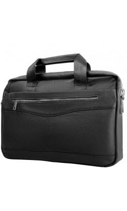 Черная сумка мужская кожаная деловая Bx1128A