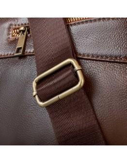 Коричневая сумка мужская повседневная Bx1128C