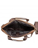 Фотография Коричневая сумка мужская повседневная Bx1128C