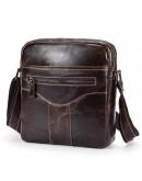 Фотография Коричневая удобная мужская сумка на плечо Bx1184C