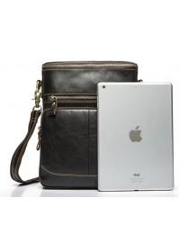 Кожаная мужская удобная сумка через плечо Bx8103C