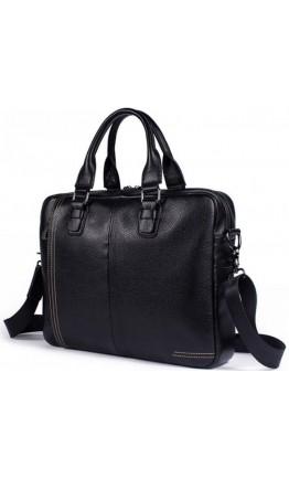 Черная сумка для мужчин кожаная Bx8122A