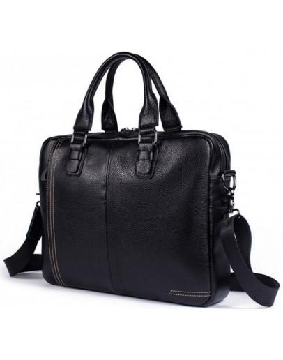 Фотография Черная сумка для мужчин кожаная Bx8122A