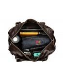 Фотография Коричневая вместительная мужская городская сумка Bx8535C