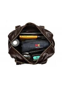 Коричневая вместительная мужская городская сумка Bx8535C