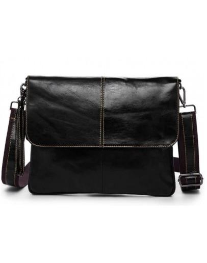 Фотография Кожаная мужская сумка - папка Bx8761