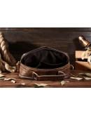 Фотография Коричневый кожаный мужской мессенджер, мужской Bx8795