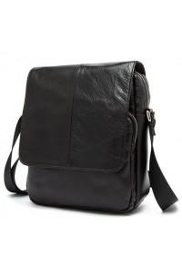 Темно коричневая мужская плечевая сумка Bx9108C
