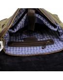 Фотография Мужская кожано-тканевая сумка через плечо Tarwa CH-6002-3md