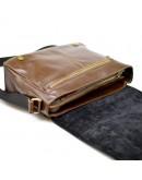 Фотография Коричневая мужская кожаная горизонтальная сумка Tarwa CQ-7338-3md