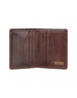 Коричневый кошелек Visconti CR91 Caiman c RFID (Brown)