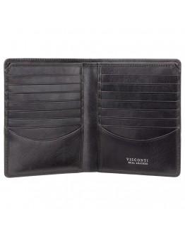 Черный кошелек Visconti CR93 Predator c RFID (Black)