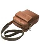 Фотография Светло-коричневая мужская сумка - барсетка CS3082