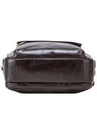 Темно-коричневая мужская сумка барсетка CS4010