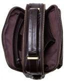 Фотография Темно-коричневая мужская сумка барсетка CS4010