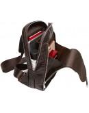 Фотография Мужской кожаный слинг с тиснением CS4020