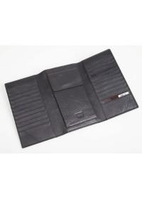 Черный кожаный мужской клатч Petek DCM-2121A