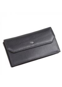 Черный клатч мужской кожаный Petek DCM-2124A