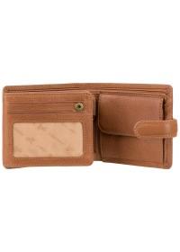 Мужской кожаный кошелек Visconti DRW30 Archimedes (Tan)