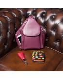 Фотография Кожаный женский кошелек Visconti DS80 Sunshine (Black Pace)