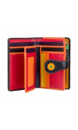 Кожаный кошелек женский Visconti DS82 Spanish (Black Pace)
