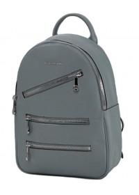 Голубой женский кожаный рюкзак FORSTMANN F-P117BL