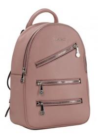 Розовый женский кожаный рюкзак FORSTMANN F-P117DP