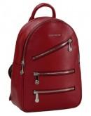 Фотография Красный кожаный женский рюкзак FORSTMANN F-P117R
