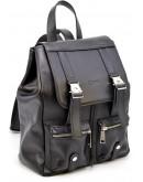 Фотография Черный небольшой кожаный рюкзак Tarwa FA-3016-4lx
