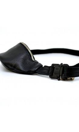 Кожаная мужская небольшая бананка - сумка на пояс Tarwa FA-3034-3md