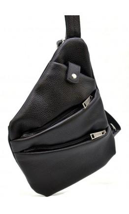 Черная мужская кожаная сумка на плечо Tarwa FA-6402-3md