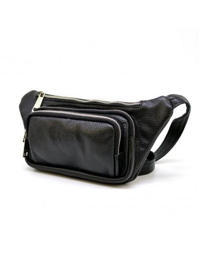 Фотография Кожаная сумка на пояс из кожи флотар Tarwa FA-8179-3md