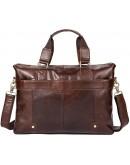 Фотография Коричневая мужская повседневная сумка FR3060