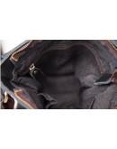 Фотография Черная кожаная сумка мужская классическая G1157AN