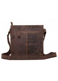 Мужская коричневая винтажная сумка G1166DB