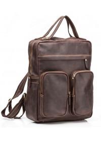 Коричневый рюкзак для мужчины из кожи G2107B
