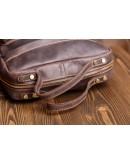 Фотография Коричневый рюкзак для мужчины из кожи G2107B