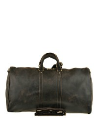 Дорожная кожаная коричневая мужская сумка G3264B