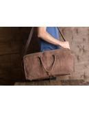 Фотография Мужская дорожная сумка, коричневый цвет G5000B