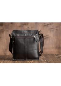 Черная сумка для мужчин из натуральной кожи G8856A