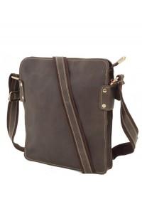 Коричневая мужская сумка, телячья кожа G8856C
