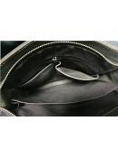 Фотография Коричневая мужская сумка, телячья кожа G8856C