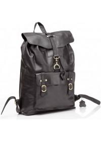Рюкзак мужской кожаный черный G8894A