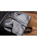 Фотография Рюкзак мужской кожаный черный G8894A