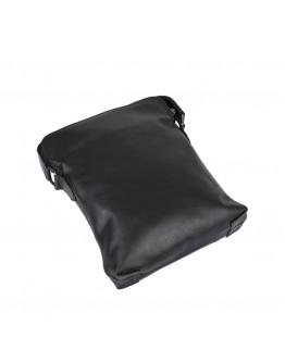 Черная кожаная сумка планшетка Tarwa GA-1048-3md