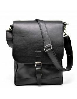 Вертикальная кожаная мужская сумка формата А4 Tarwa GA-1808-4lx