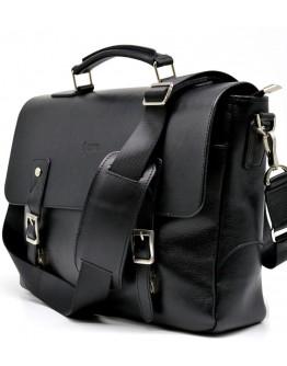 Мужская кожаная черная сумка-портфель Tarwa GA-3960-4lx